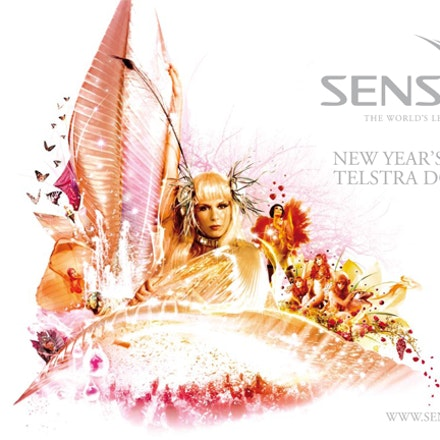 Sensation NYE, Etihad Stadium (Formerly Telstra Dome), Melbourne, 31 December 2008 - Showcasing our first ever social gallery captured for inthemix back...