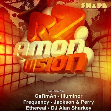 Amon Vision, Shape, 8 April 2011 - Amon Vision rolls in with another instalment of Perth's finest trance and progressive talent!  Featuring: Flare, DJ...