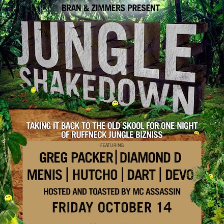 Jungle Shakedown, Ambar, 14 October 2011 - Put your hands together Perth Old Skool massive, we're bring all that back in a Jungle Shakedown! We've gathered...