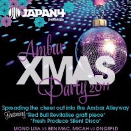 Ambar's Xmas Party, Ambar, 23 December 2011 - The Ambar Xmas Party will now be spreading the cheer out into the Ambar Alleyway (Maclean Lane) for the first...