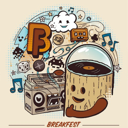 Boomtick pres. Breakfest, Belvoir Amphitheatre, 26 December 2012 - Breakfest 2012 (BF12) features a hand-picked selection of fresh and favourite artists...