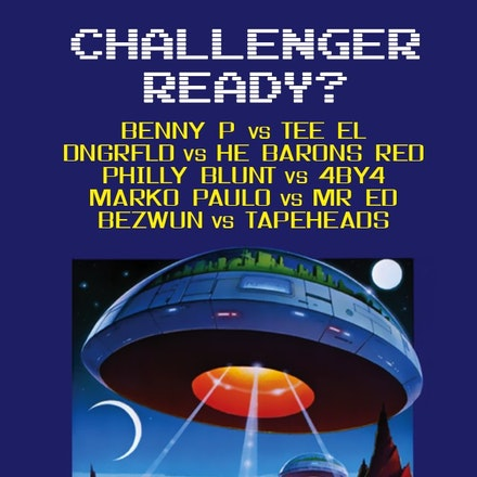 Challenger Ready?, Ambar, 17 May 2013 - Select your challengers from a lineup of the Boomtick Elite 'cos it's on like Donkey Kong:  ** Set Times ** 1000...