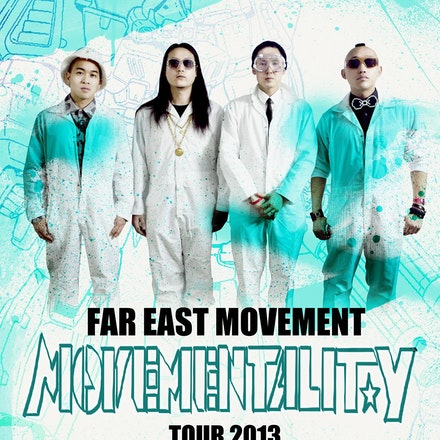 Far East Movement - Movementality Tour, Metro City, 13 July 2013 - Straight from the clubs and streets of Los Angeles, California, the fresh US electro-hop...
