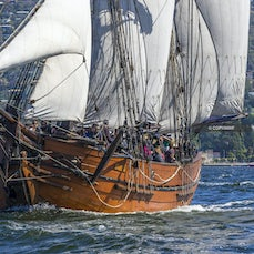 Feature Vessels (Tall Ships) 2015 - Images of the Feature Boats (Tall Ships) at AWBF 2015, held in Hobart, Tasmania, Australia