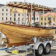 Boats Ashore 2017 - Images of the Boats Ashore displayed at the Australian Wooden Boat Festival 2017, Hobart, Tasmania, Australia, Feb 10-13th inclusive...