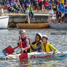 Quick and Dirty Boats 2017 - Images from the Quick and Dirty Boat Building Challenge, at the Australian Wooden Boat Festival 2017, Hobart, Tasmania, Australia,...