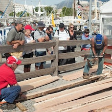 Boat Building 2013 - Building Wooden Boats. Craftsmen demonstrate the skills used and products made
