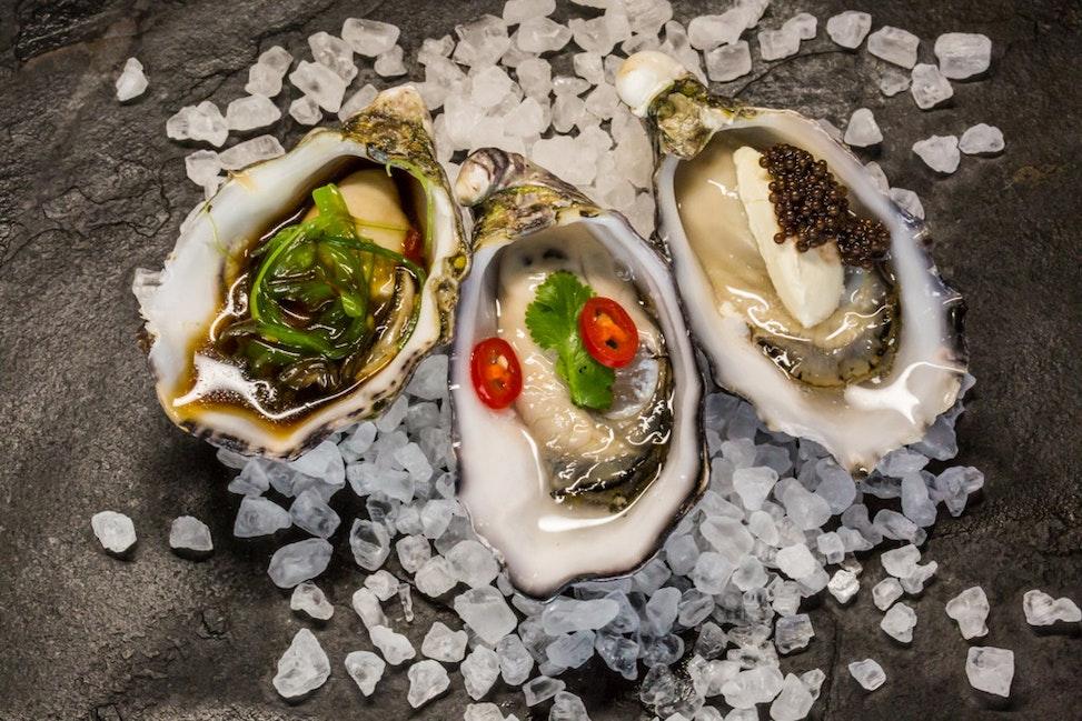 Gazander Oysters