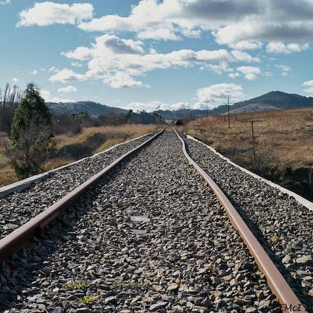 Railway line near Michelago