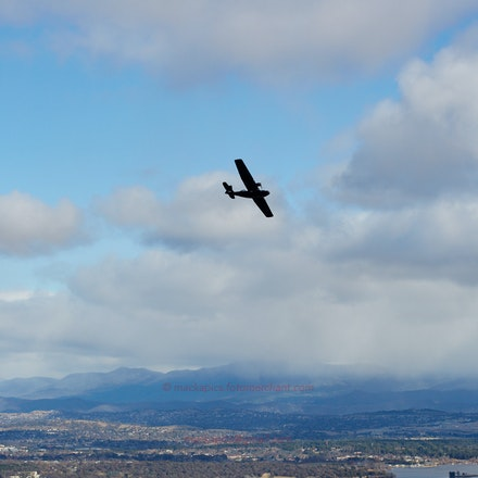 PBY Catalina over Canberra - The PBY Catalina of the Historical Aircraft Restoration Society flies over Canberra
