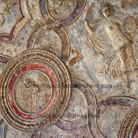 preserved fresco - Pompeii trip