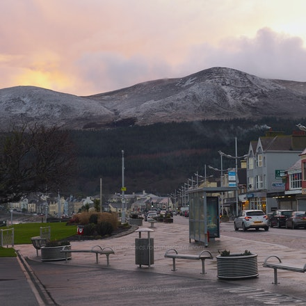 Slieve Donard from Newcastle - Newcastle, Co. Down