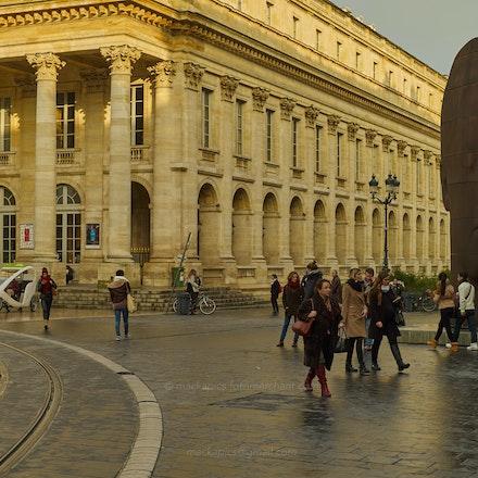 Grand buildings in Bordeaux - Bordeaux