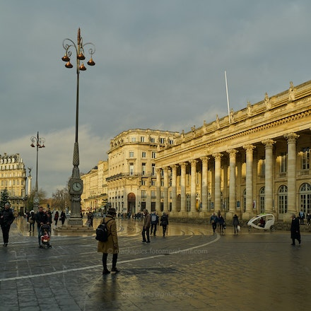 Sunlight in winter - Bordeaux