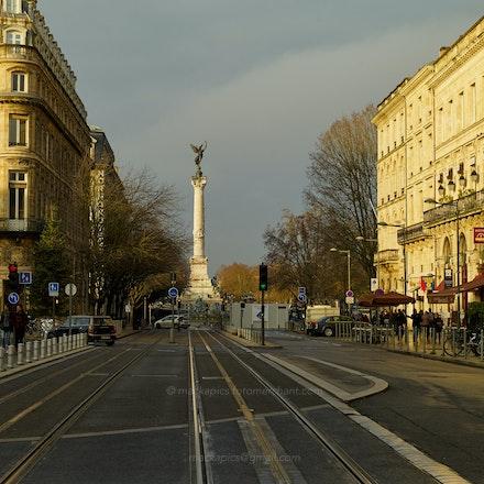 Winter sunlight - Bordeaux