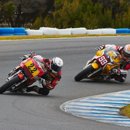 Jed Metcher and McWill, 1-2 - Lap 1, Race 4