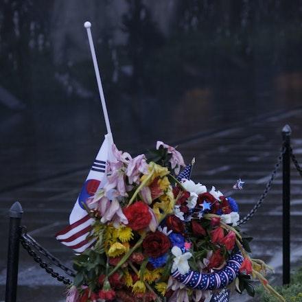 Korean Gratitude - Korean War Memorial, Washington DC