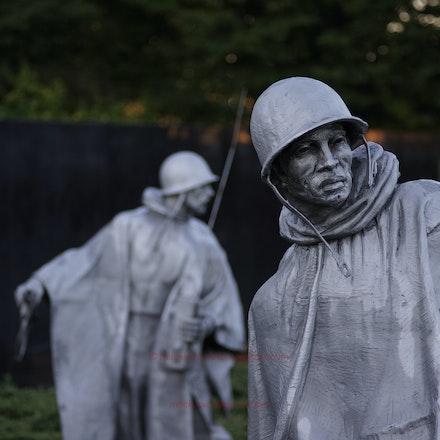 Korean War Memorial - Washington DC