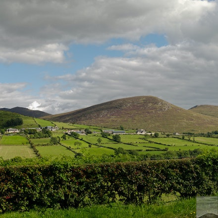 Western Edge of the Mourne Mountains - The Mourne Mts. are in Co. Down, N. Ireland. 