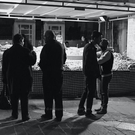 Valletta street-stall, Malta - Malta Dec 2012