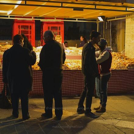 Valletta street-stall, Malta - Malta, Dec 2012