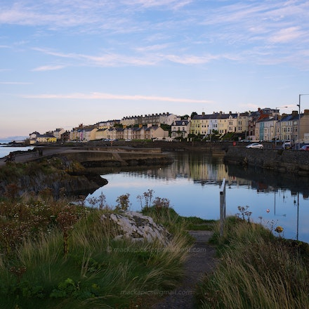 'The Long Hole' boat mooring at dusk - PS image, proc using DCU