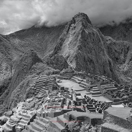 Macchu Picchu vista - Machu Picchu viewed in infrared.