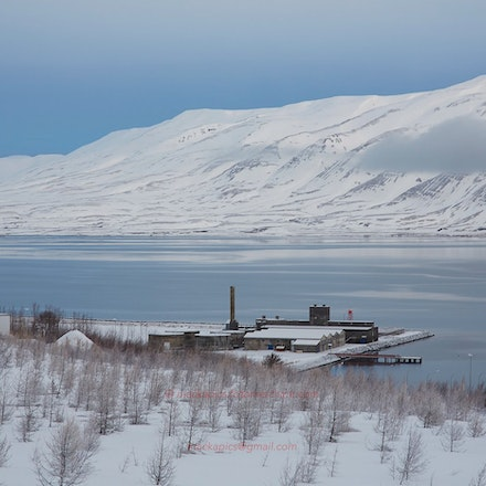 Iceland - Akureyri and region - The mid-North coastal region of Iceland, visited in winter.