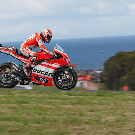 Nicky Hayden, Lukey Heights - 2011 MotoGP Practice