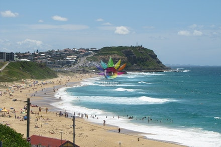 Newcastle Coastline, NSW - Newcastle Coastline, New South Wales, Ocean Baths,