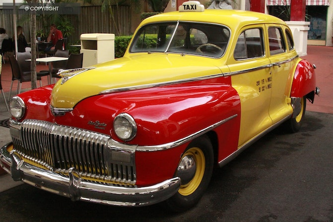 Early Taxi - Taxi - Movie world Gold coast