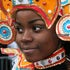 Bahamian Junkanoo Girl