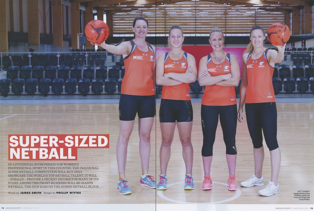 Inside Sport Magazine - NSW Giants Netball - 2