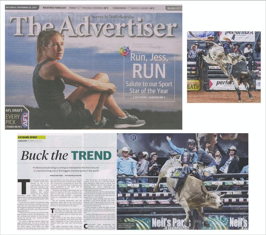 Adelaide Advertiser PBR