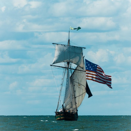 Battle of Lake Erie - The Tripe sails Lake Erie