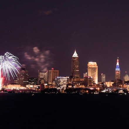4th of July 2014 - Taken from the deck of Pier W in Lakewood, OH.  The cute girls were there to watch the fireworks, but it was too cool for them.  I had...
