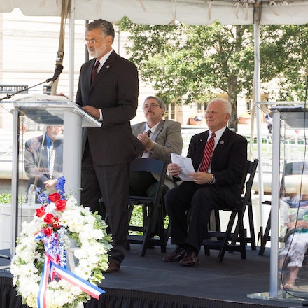 Greater Cleveland Veterans Memorial - Re-Dedication July 25th 2014