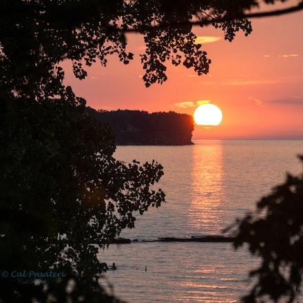 Sunset in Bay Village - Cahoon Park, Bay Village OH