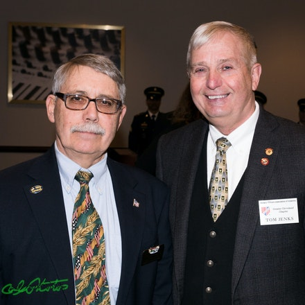 JVCOCC 93nd Anniversary Luncheon 2018 - Installation and Awards Luncheon, celebrating and honoring Honor Flight Cleveland  Accepting the this honor is...