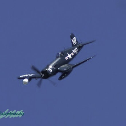 F4u-N - F4u-N Corsair (night fighter) at the Cleveland Air Show 2010.