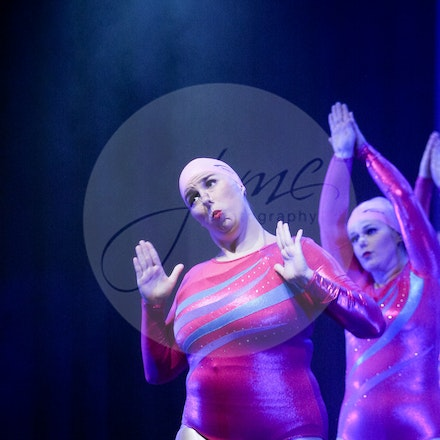 Synchronized Swimming - House Of Dance Disco ... beyond the mirror ball! House of Dance presented their end of year dance concert at Mt Nelson Theatre...