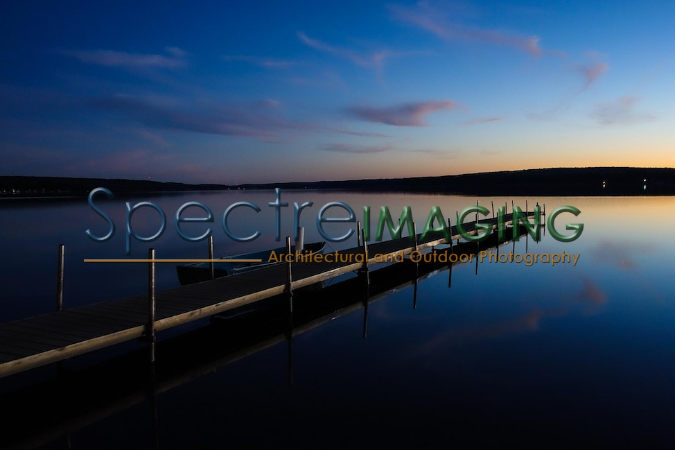 01 - Otsego Lake Dock - Evening-2