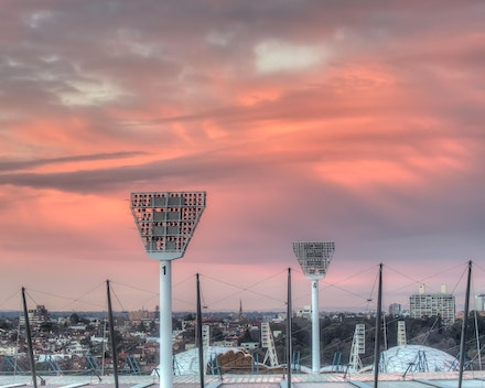Melbourne Cricket on Fire