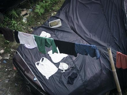 BMW laundry