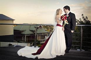 wedding ~ Sam & Melissa - Mount Cootha Wedding