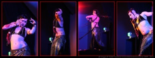 sur scène ~ Ariellah at Evernight 2011