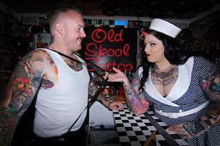 millésime beaute ~ Old Skool Tattoo