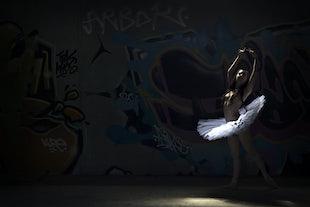 artisitic adult - Abandoned Ballerina