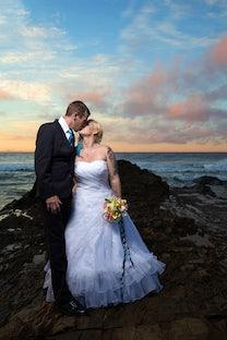wedding ~ Craig & Beth - MY Snapper Rocks Wedding ~ April 2015 ~ photography by Angela Alexander processed (edited) by Beth