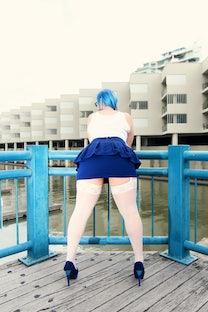 artistic adult - ST ~ blue